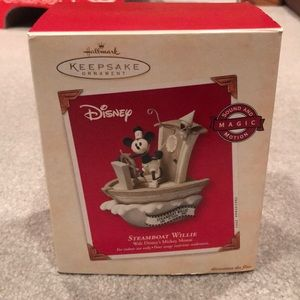 "Hallmark Disney ""Steamboat Willie"" Ornament"